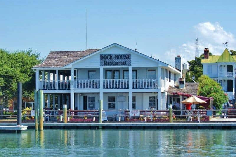 The Dock House Restaurant is a local favorite in Beaufort, NC