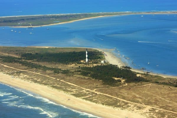 Cape Lookout Lighthouse in Beaufort, NC