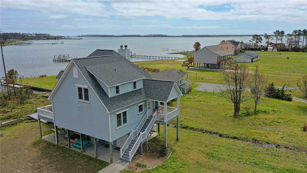 Beaufort waterfront vacation rental