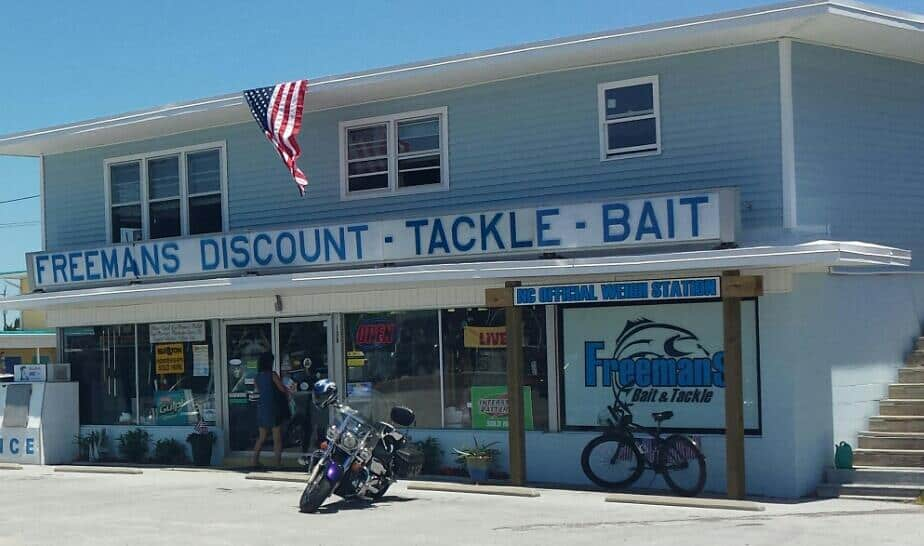 Freeman's Bait and Tackle in Atlantic Beach, NC
