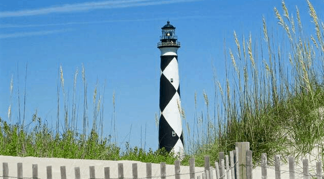 Image of Cape Lookout Lighthouse on Harkers Island || Spectrum Properties