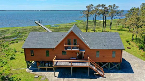 Atlantic Beach, NC, vacation home with boat dock